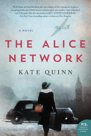 cover of book The Alice Network by Kate Quinn